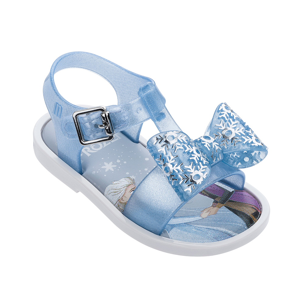 Mini Melissa 2020 Snow Princess Sandal Children Breathable Soft  Beach Slippers Baby Summer Bow Jelly Melissa Shoes