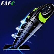 Aspiradora portátil de mano para coche, aspirador inalámbrico de 120W, USB, uso en seco/mojado, recargable, para el hogar y el coche