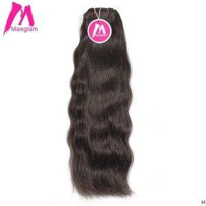 Необработанные индийские прямые девственные волосы для наращивания, пряди, натуральные короткие человеческие волосы, волнистые для черных...