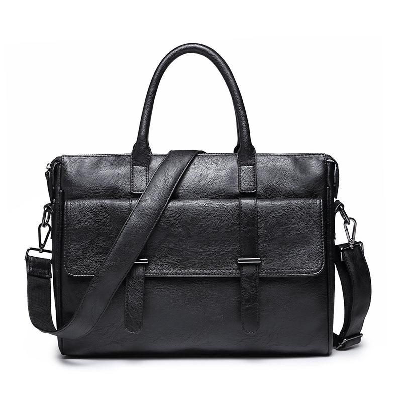 Men's Handbags Hand Bag Business Large Capacity Computer Bag Briefcase Side Bag for Men Briefcase Men Office Bags for Women