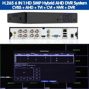 Image 5 - Viso di Rilevamento Umano H.265 8CH AHD 5MP di sorveglianza DVR NVR 8 canali 5MP fino a 16CH 1080P di Sicurezza 3G WIFI DVR video recorder