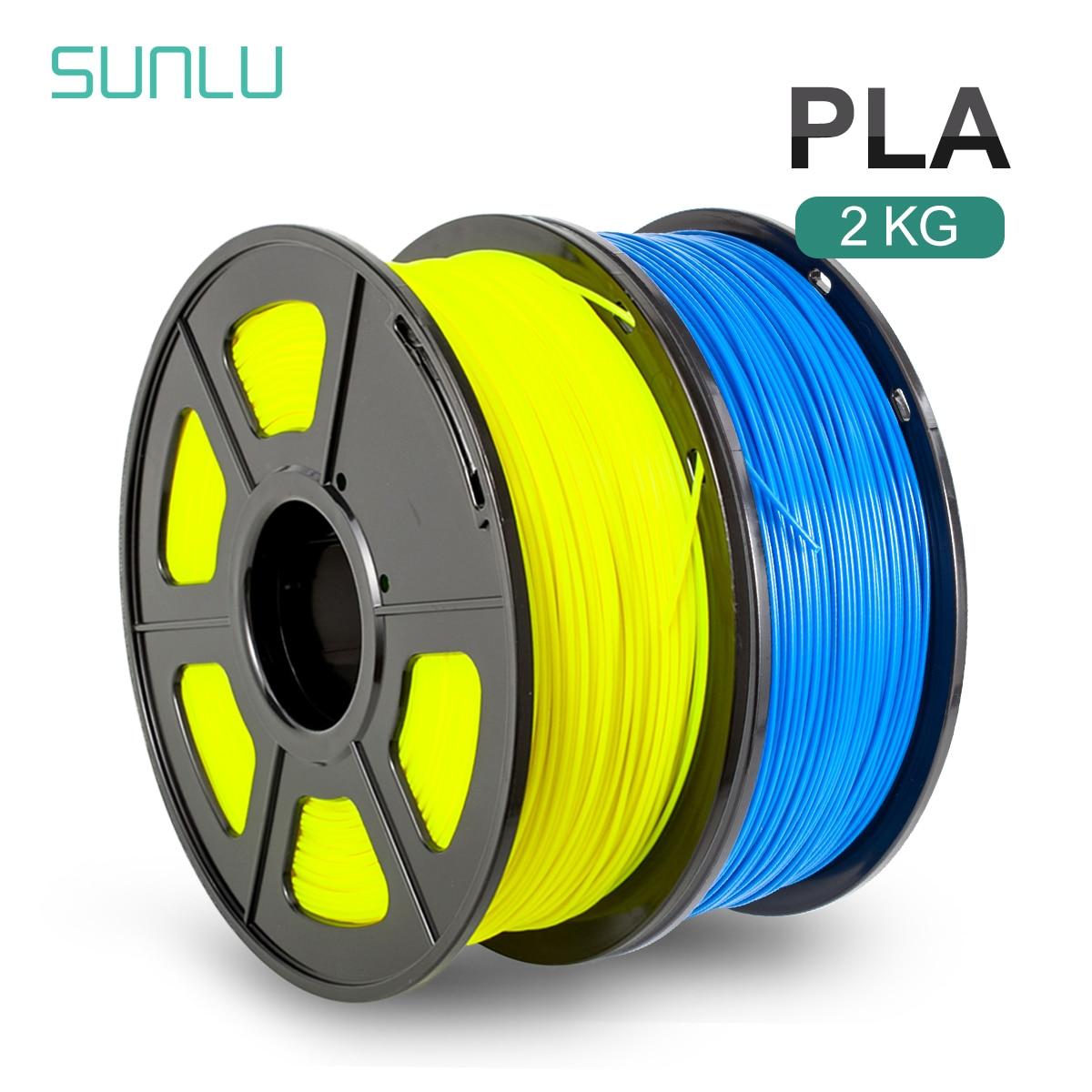 Нить PLA PLUS SUNLU, 1,75 мм, 1 кг, материал для 3d-печати, многоцветная нить PLA для 3d ручки, экологически чистый материал, безопасный для детей