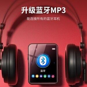 Image 3 - Yeni BENJIE X1 Bluetooth MP3 çalar 16GB Mini dokunmatik ekran müzik çalar desteği FM radyo e kitap Video oynatıcı inşa hoparlör