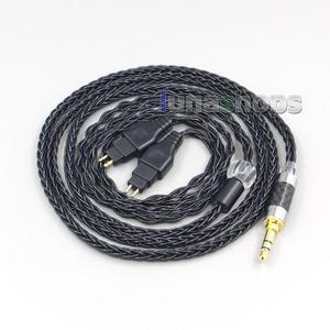 Image 5 - LN007038 8 Core Balanced Pure Silver Plated Earphone Cable For Sennheiser HD580 HD600 HD650 HDxxx HD660S HD58x HD6xx
