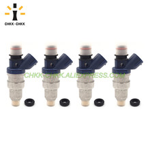 CHKK-CHKK 23250-75040 23209-75040 23209-79085 fuel injector for TOYOTA Hilux / Tacoma 2.4L 2RZ 4pcs lot japan original genuine for denso fuel injectors 23250 28070 23209 28070 nozzles for toyota