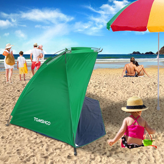 TOMSHOO Ultralight Camping Tent OutdoorBarraca Sports Sunshade Tent for Fishing Picnic Beach Park Barraca Anti-mosquito Tents 3