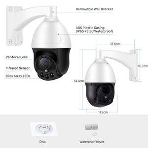 Image 2 - 1080P PTZ Speed Dome IP Camera 3MP Full HD 4X Zoom P2P 40m IR Night Vision Waterproof P2P Outdoor Onvif  Dome POE  Cam xmeye app