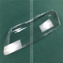 for 06-11 audi A6L Headlight cover A6 headlamps transparent glass lamp shell lamps 2pcs
