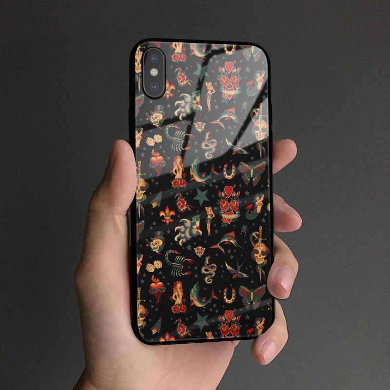 Thời Trang Cướp Biển Hình Biểu Tượng Logo Coque Silicone Mềm Điện Thoại Ốp Lưng Dùng Cho iPhone SE 6 6S 7 8 plus X XR XS 11 Pro Max