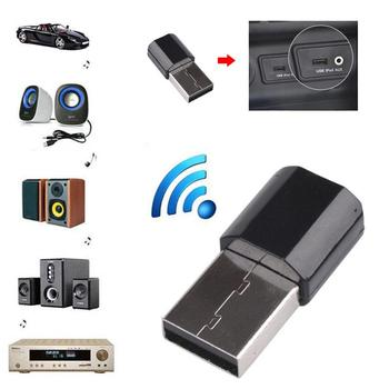 Bluetooth 3.0 Audio Wireless Adapter Receiver Transmitter Mini Stereo Bluetooth AUX/RCA USB 3.5mm Jack For TV PC Car Kit image