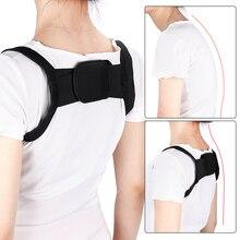 Регулируемый размер задняя плечевая осанка корректор поддержка пояса выпрямление осанки ортопедический корсет красоты