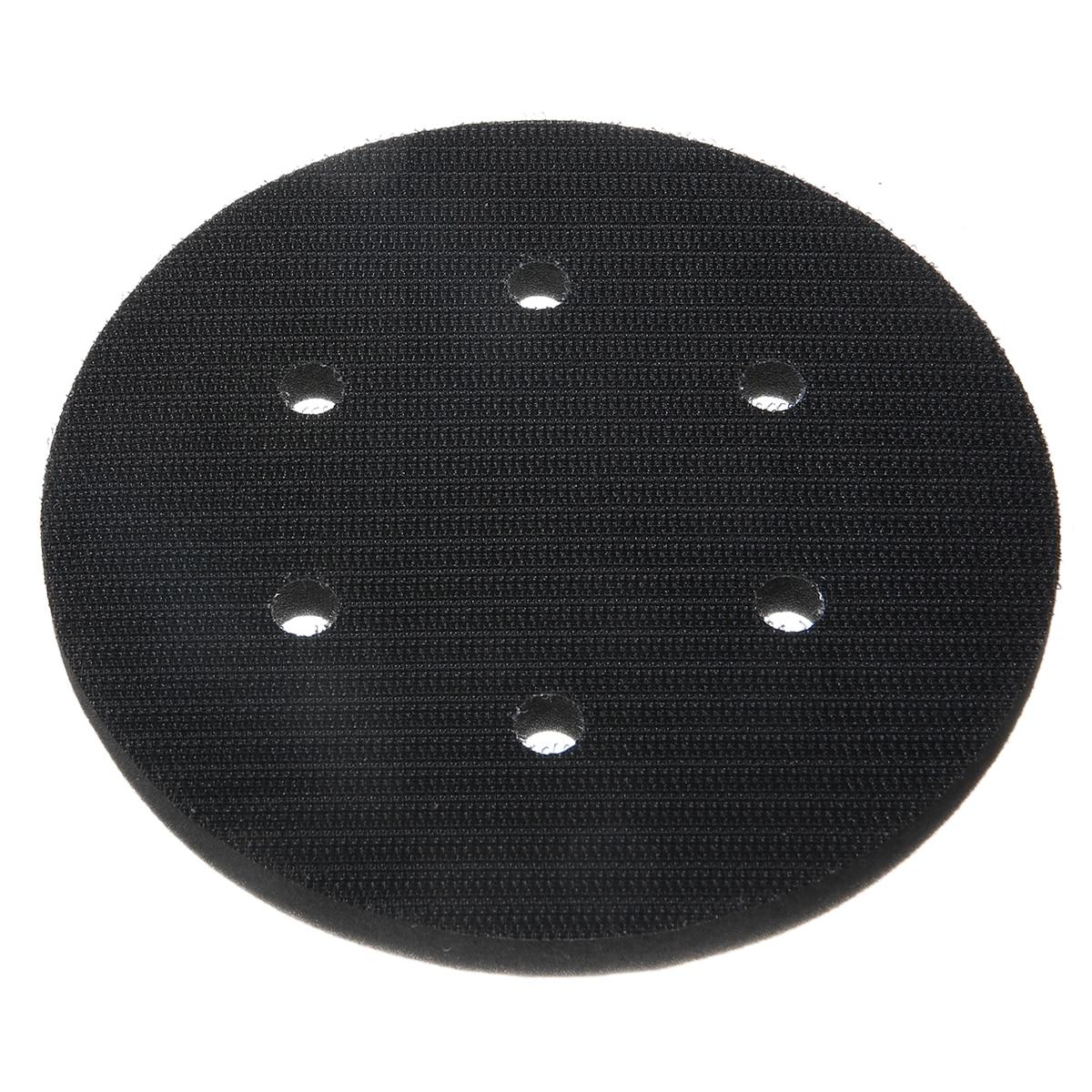 1PCS  6 Inch Interface Cushion Pad 150mm 6Hole Hook /& Loop Foam Sanding Disc