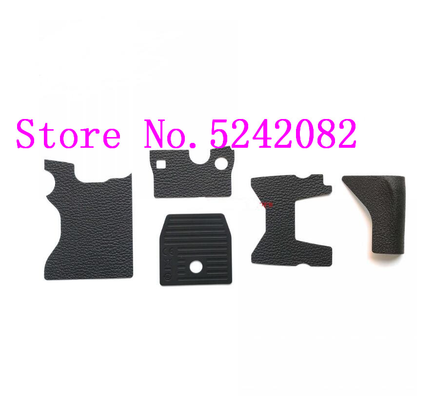 A Set Of 5 NEW For Nikon DF Body Rubber Grip Thumb Bottom Top Rubber Camera Repair Part Replacement Unit|Len Parts|   - title=