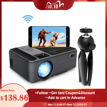 Caiwei C180AB 1280X720P Android Wifi Proyector Draagbare Led Beamer Draadloze Mini Projector Voor Smartphone Home Cinema