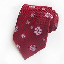 цена на Noeud Mariage Mens Ties New Man Fashion Snowy Design Neckties Slim Tie Business Tie For Men Wedding Red Gravata Borboleta 2020