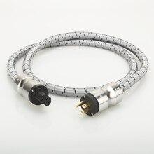 Высококачественный Кабель питания Hi Fi, Hi Fi, американский АС, аудиокабель питания, кабель Hi Fi, кабель питания переменного тока