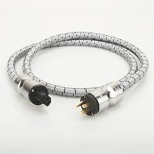 Wysokiej klasy kabel zasilający hifi HIFI US AC Audiophile kabel zasilający Hi Fi kabel zasilanie prądem zmiennym kabel