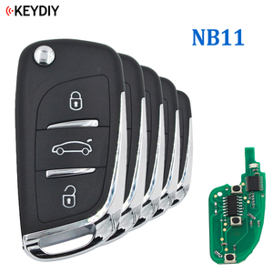 Image 1 - 5PCS, Multi functional Universal Remote Key for KD900 KD X2 URG200 NB Series , KEYDIY NB11 (all functions Chips in one Key)