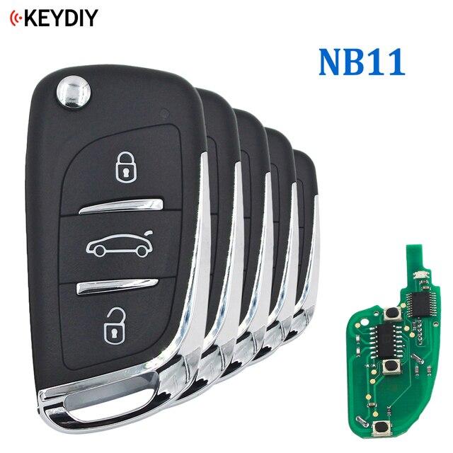 5PCS, Multi functional Universal Remote Key for KD900 KD X2 URG200 NB Series , KEYDIY NB11 (all functions Chips in one Key)