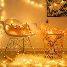 Сказочная Мерцающая гирлянда 20 м 200 светодиодов для свадьбы
