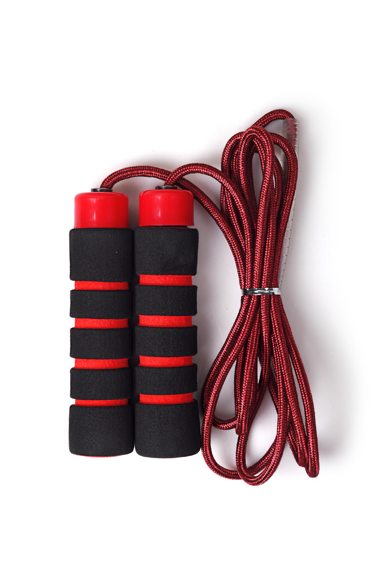 [Wei Masi] Fitness Jump Rope Double Layer Weaving Nylon Foam Plastic Handle Adult Children Sports Training Rope
