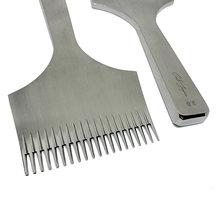 20 Зубцов кожаный дырокол шитье шесть краев метод измельчения