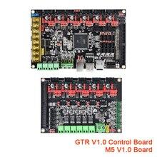 Bigtreetech gtr v1.0 32 bit placa de controle m5 v1.0 placa mãe impressora 3d peças tmc2208 tmc2209 uart vs dueto 2 wifi skr v1.4 pro