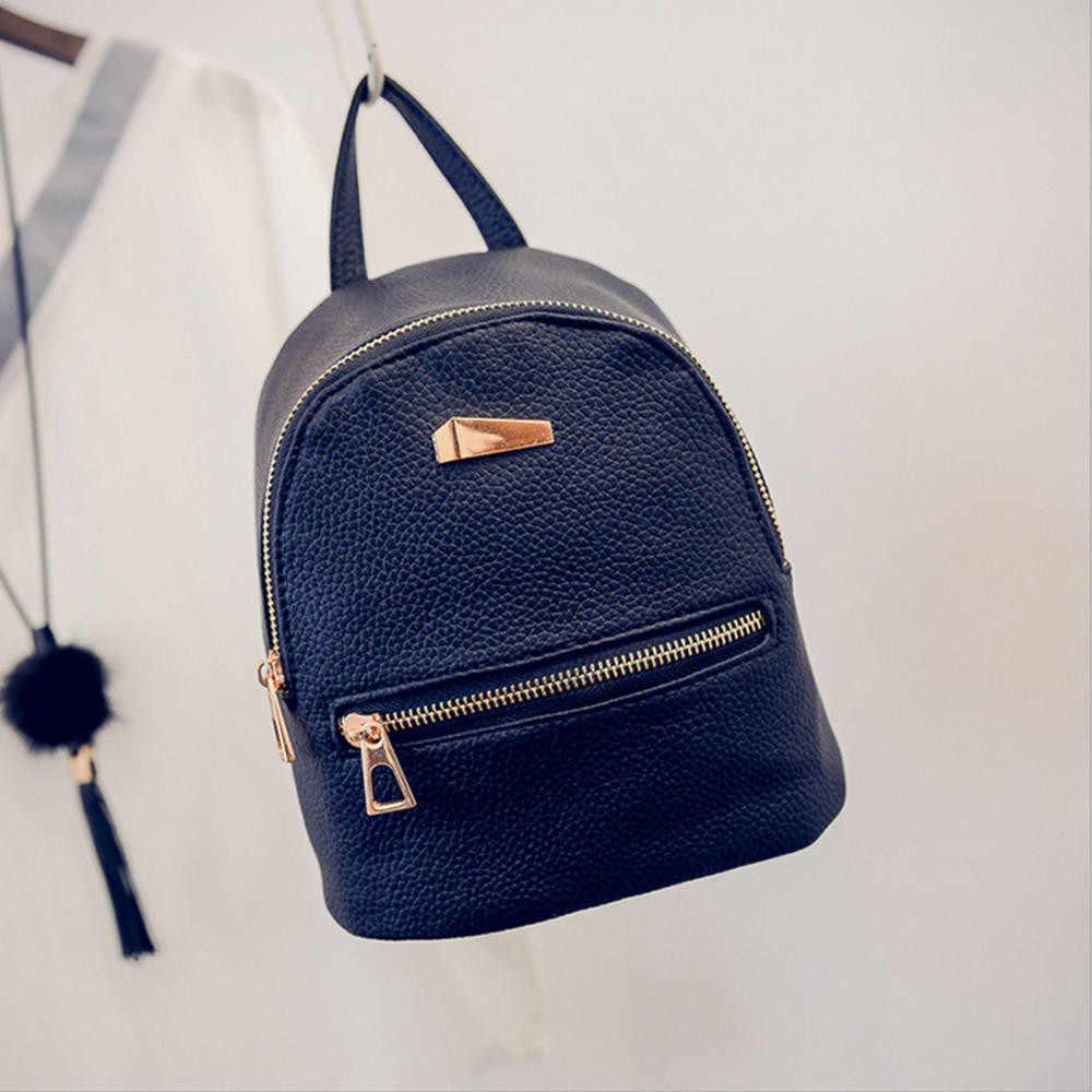 Mini sac à bandoulière bonne qualité en cuir PU pour femmes, sac à dos d'école à la mode, sacoche de voyage, #25