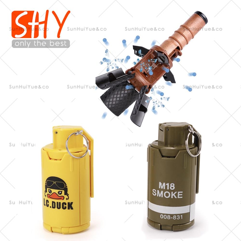 Toy-Gun Model-Props Grenade Game Water-Bomb Thunder Elite Children Adult Egg-Toy Burst