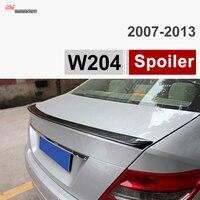 W204 คาร์บอนไฟเบอร์ Trunk รถเบนซ์ C Class W204 ซีดาน C180 C200 C220 C230 C250 C280 C300 c320-ใน สปอยเลอร์และปีก จาก รถยนต์และรถจักรยานยนต์ บน