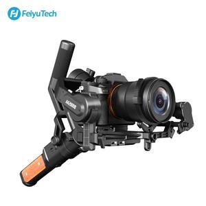 Image 3 - FeiyuTech AK2000S 3 assi gimble DSLR Camera Stabilizzatore Palmare Video Gimbal misura per DSLR Mirrorless Camera pk ak2000