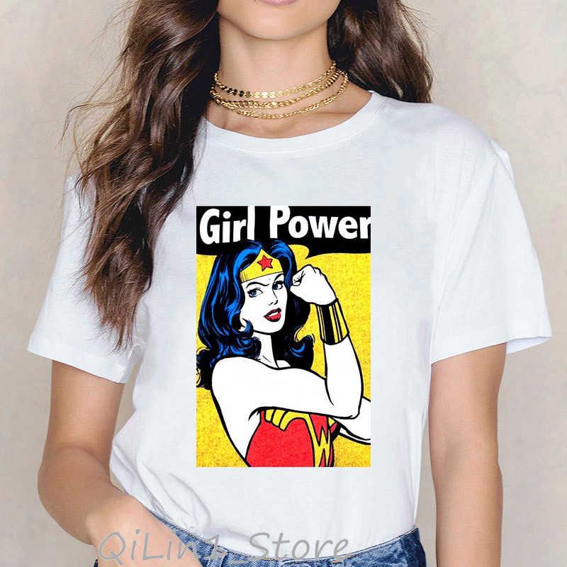 Star Wars T เสื้อผู้หญิง Fight Like A GIRL TEE เสื้อ Femme 90 S สตรี TShirt ฤดูร้อนหญิงยอดนิยมผู้หญิงสีขาวเสื้อยืด