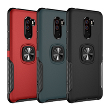 Shockproof Armor Case For Xiaomi POCOPHONE F1 Metal Finger R