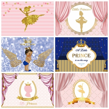 Laeacco Princess Birthday Backdrops For Photography Gold Dots Party Customized Banner Child Portrait Photo Background Photocall customized art fabric candy rack photography backdrops for child studios drops newborns background 5x7ft