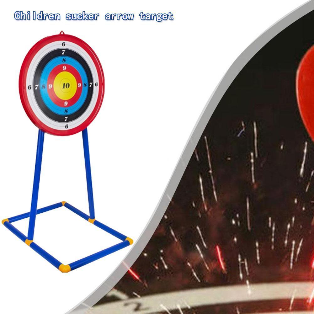 1set Large Vertical Target Set Suction Cup Darts Bow Children's Toy Target A3L1