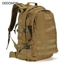 40l 3d militar mochila escalada montanhismo mochila acampamento caminhadas trekking saco de viagem ao ar livre tático mochila