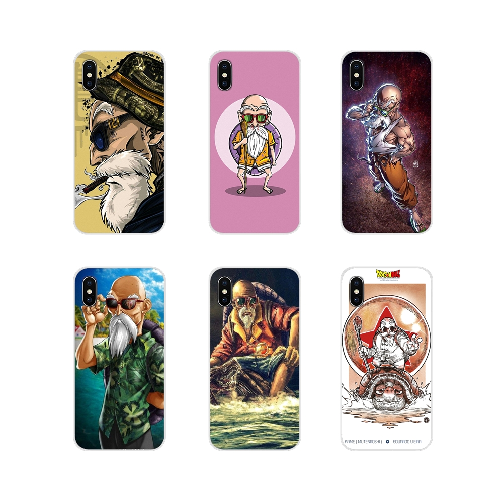 For Apple iPhone X XR XS 11Pro MAX 4S 5S 5C SE 6S 7 8 Plus ipod touch 5 6 Master Roshi Accessories Phone Shell Covers