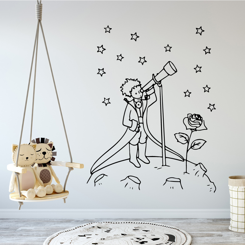 The Little Prince Wall Decal Wall Quote Removable Sticker Etsy