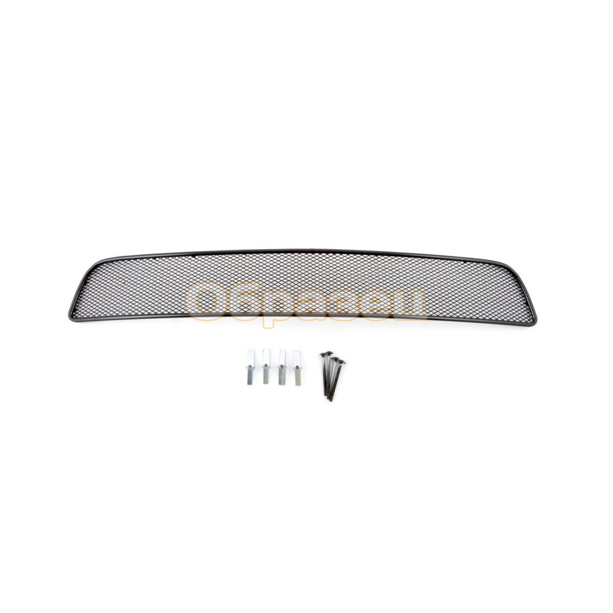 Mesh On Bumper External For Chevrolet Lacetti Hatchback 2004-2013 BLK