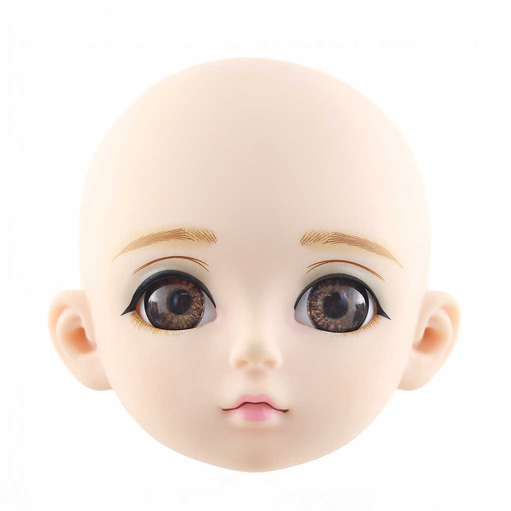 Normal Skin Tone 1//3 BJD SD Ball Jointed Doll Head Sculpt for  DOD AS SD