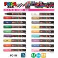 1 шт. UNI маркер для белой доски POSCA PC-1M поп-плакат на водной основе рекламы/граффити маркером в наборе 0,7 Nid персонажа ярко и красочно