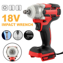цена на 2 Colors Wireless drill 18V Electric Brushless impact wrench Rechargeable Wrench Power Tool Cordless Without Battery&accessories