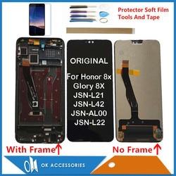 Original pour Huawei Honor 8X gloire 8X JSN-L21 JSN-L22 JSN-L23 JSN-L42 JSN-LX1 JSN-LX2 écran tactile d'affichage à cristaux liquides de JSN-LX3 avec des Kits