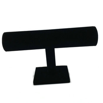 Real New Jewelry Display Jewelry Box Free Shipping 5 pcs Bracelet Bangle Velvet T-bar Display Stand