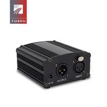 YUEPU RU-P48V 48V Phantom Power Supply for Condenser Microphone XRL Socket
