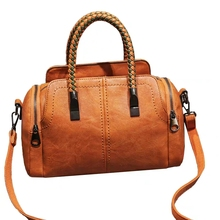 JUILE New Shoulder Bag In Women's Tote Brand Crossbody Bags for Women Messenger Bags Vintage Leather Bags Handbags Women Famous