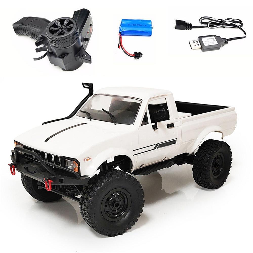 Newwst WPL C24 обновление C24-1 1:16 RC автомобиль 4WD Радиоуправление внедорожный мини-автомобиль комплект RTR Рок Гусеничный электрический багги