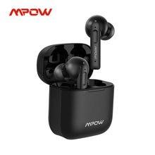 Mpow x3 bluetooth 5.0 verdadeiro sem fio fones de ouvido com cancelamento de ruído ativo 27h reprodução in-ear fone de ouvido com microfone para telefone