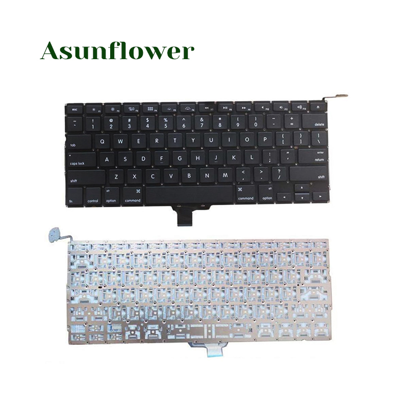"""Teclado de repuesto para portátil estándar de EE. UU. Para MacBook Pro 13 """"A1278 100% nuevo teclado de repuesto para ordenador portátil de alta calidad"""