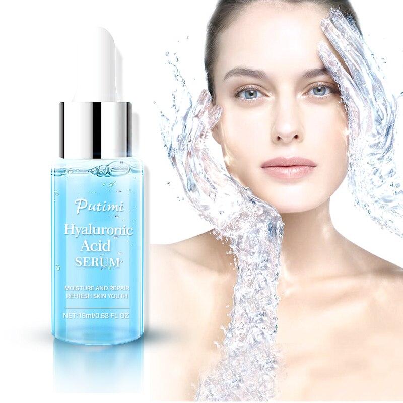 Hyaluronic Acid Face Serum Moisturizing Smoothing Face Serum Anti-wrinkle Hrink Pores Repair Face Cream Skin Care TSLM1